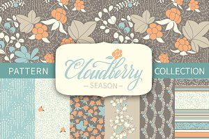 Cloudberry season - patterns set