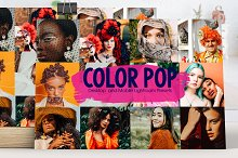 Color Pop Lightroom Presets by  in Add-Ons