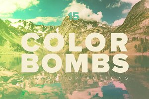 15 Premium Color Bomb PS Actions