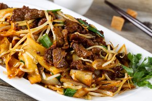 Tasty Sliced Beef Asian Style