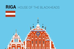 House of the Blackheads, Riga,Latvia