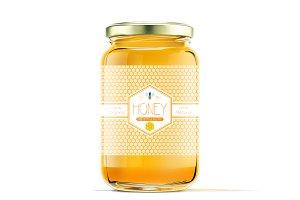 Honey lebel template v3