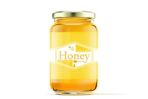 Honey lebel template v6
