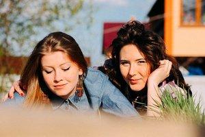 Friendship of girls