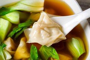 Fresh Wanton Soup