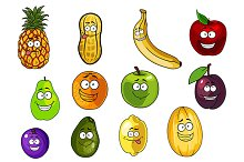 Colorful fruits and vegetables
