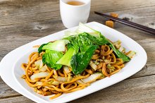 Spicy Asian Noodle Dish
