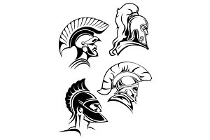 Spartan warriors or gladiators