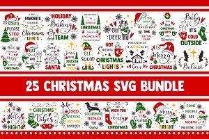 Christmas SVG Bundle Winter SVG PNG