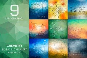 9 chemistry infographics