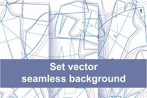 6 seamless sewing pattern texture