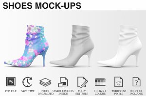 Shoes Mockup - Woman Shoes Mockups