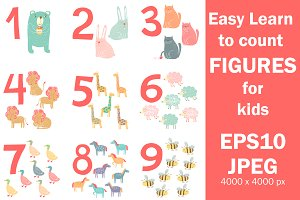 Easy Learn to count figures