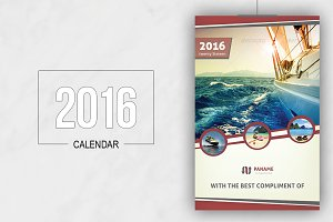 Multipurpose Business Calendar 2016