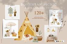 Bohemian Picnic kids collection