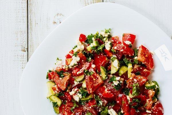 Mediterranean-style salad
