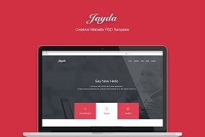 JAYDA - Creative One Page Template