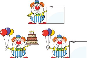 Funny Clown Collection - 1