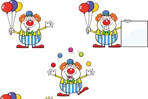 Funny Clown Collection - 2