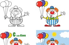 Funny Clown Collection - 3