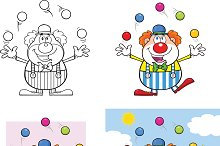 Funny Clown Collection - 4