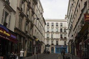 Parisian Street in Montmatre