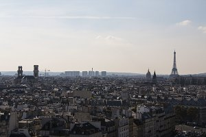Paris Skyline with Eiffel Tower 2