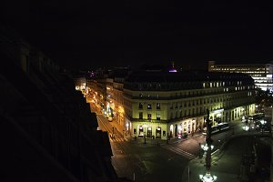 Opera District at Night in Paris 2