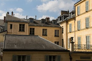 Rooftops in Versailles, France