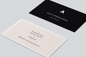 "Business Card - ""Quint"""