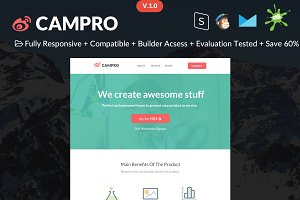 Campro - HTML Email Template