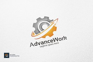 Advance Work / Gear - Logo Template