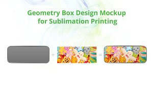 Geometry Box Sublimation Mock-up