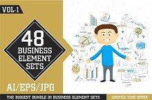 Business Elements Sets - Vol 1