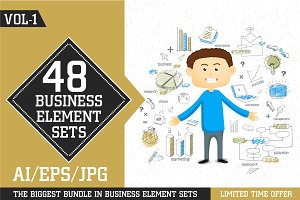 Business Elements Sets - Vol 1