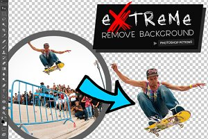 Extreme Remove Background Actions