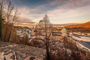 Austria / Salzburg / City view