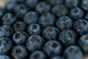 background with blueberry