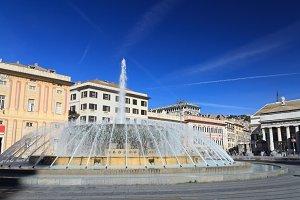 De Ferrari square, Genova, Italy
