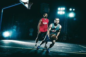Basketball chase
