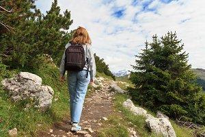 hiking in Dolomiti