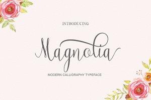 Magnolia Dou font