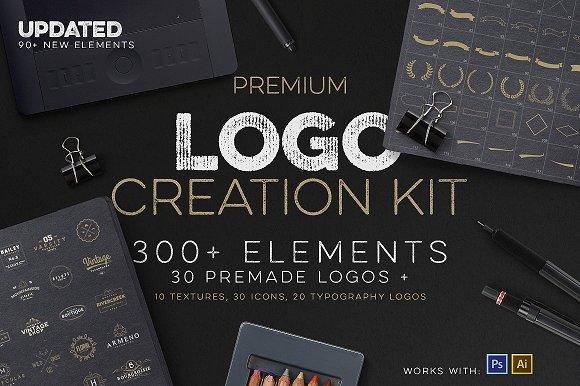 Logo creation kit bonus logo templates creative market logo creation kit bonus sciox Image collections