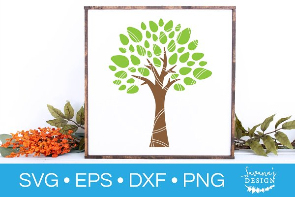 Tree Svg Tree Of Life Family Tree Pre Designed Photoshop Graphics Creative Market