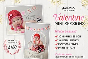 Valentine Photography Marketing PSD