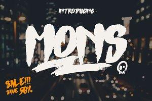 Mons Typeface