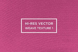 Hi-Res Vector Weave Texture #1