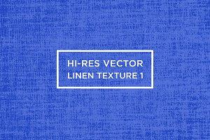 Hi-Res Vector Linen Texture #1