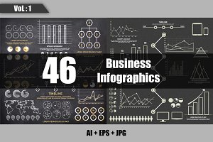 Business Infographics Sets - Vol 1