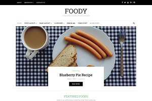 Foody - HTML Blog Template